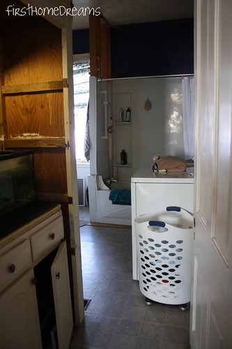 victorian farm house bathroom renovation