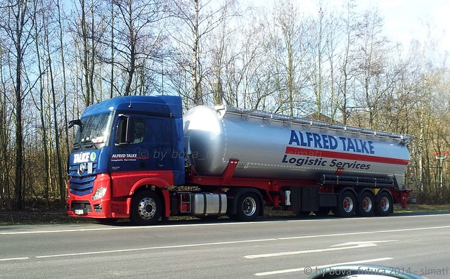 MB ACTROS MP4 Alfred Talke Logistic Service
