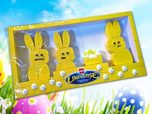 Lego Bunny Peeps