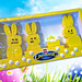 Lego Bunny Peeps by Siercon and Coral