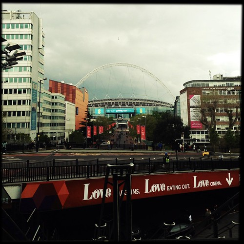 Wembley Stadium 22/4