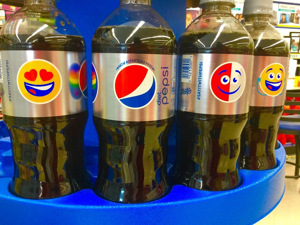Pepsi, Emojis