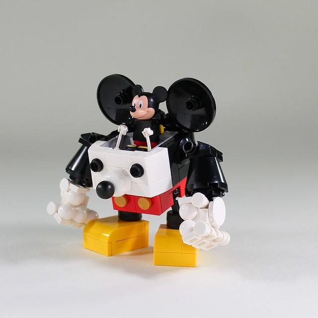 Robot Mickey