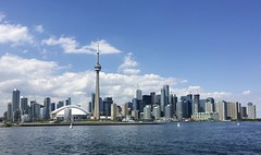 The skyline from the ferry