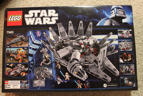 LEGO Star Wars Millennium Falcon (7965) Review - The Brick Fan | The ...