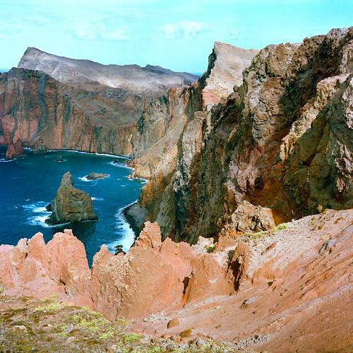 無料写真素材, 自然風景, ビーチ・海岸, 崖