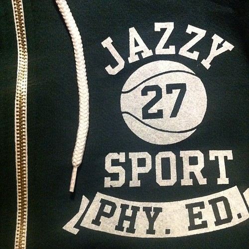 PHY ED ZIP HOODIE:Forest
