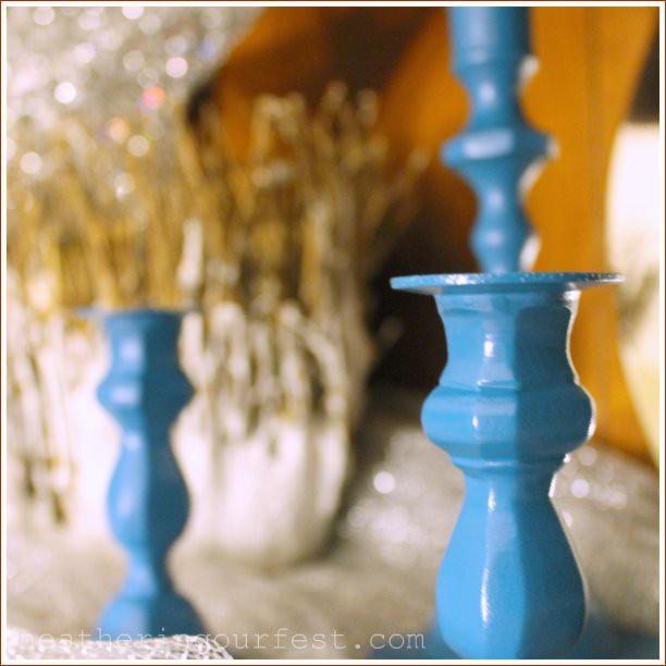 candlesticks china hutch
