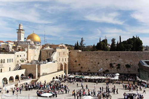 The Western Wall and the Temple Mount by day