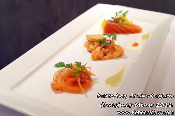 Nerovivo, Jalan Ceylon - christmas menu 2011-2