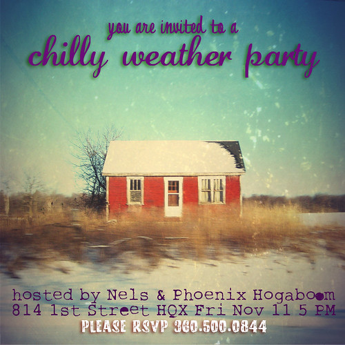 Chilly Weather Party