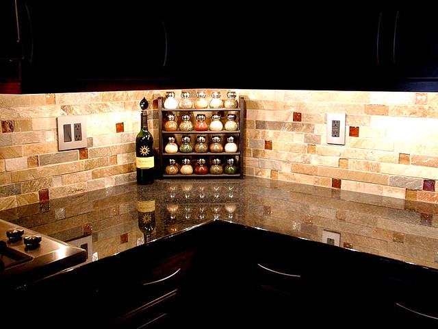 rustic kitchen backsplash flickr photo sharing 25 best ideas about rustic backsplash on pinterest