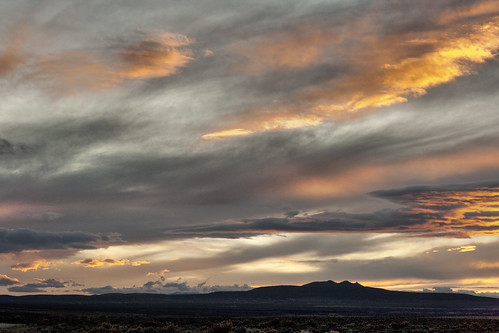 Taos Sunset - 11/23/2011