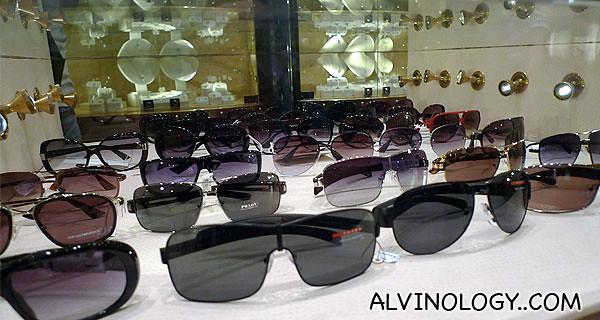 Branded shades