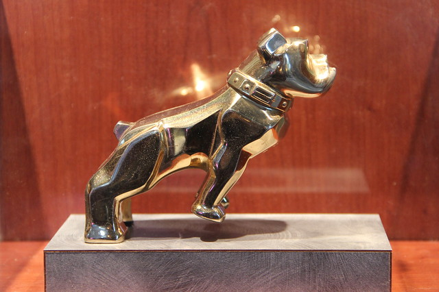 Early Mack Truck Bull Dog Hood Ornament from emilysattictreasures