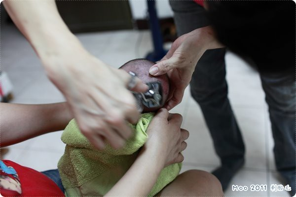 剃胎毛儀式-7