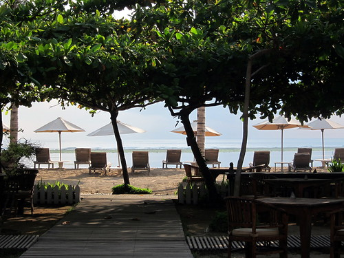 La Taverna's Private Beach at Sanur