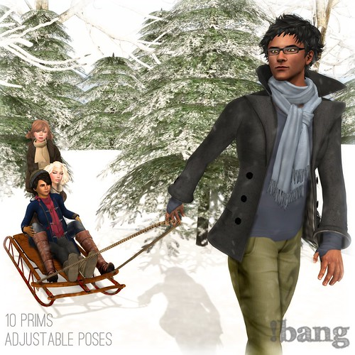 !bang - sledding - family