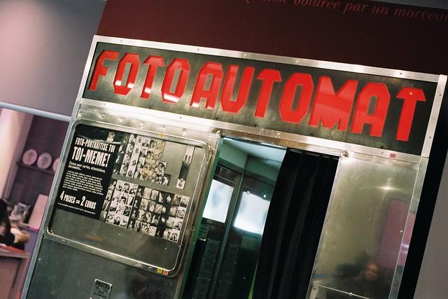 Das fotoautomat parisien