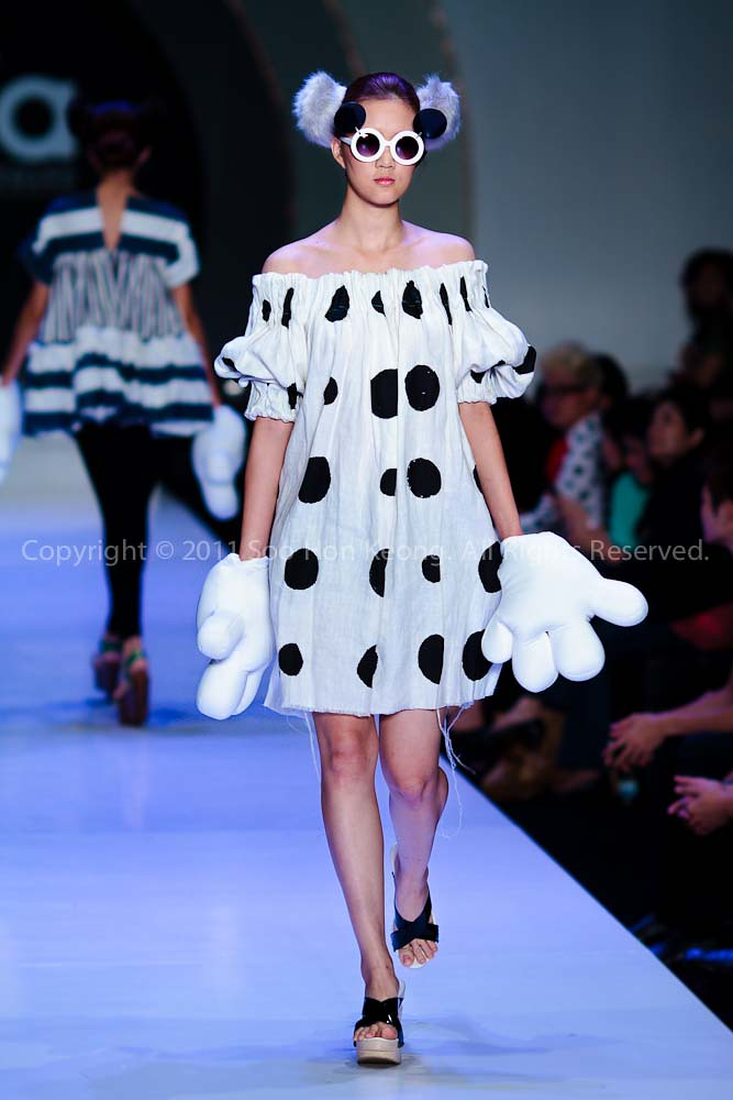 MIFW 2011 (Its MIFA) - Tribute to Mickey and Friends @ Zebra Square, KL, Malaysia