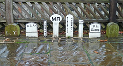 Railway paraphernalia at Ingrow Station by Tim Green aka atoach
