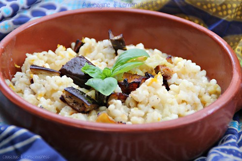 Aubergine & Lemon Risotto 2