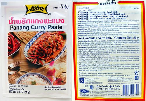 panang currypasta van Lobo