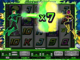 Green Lantern bonus game