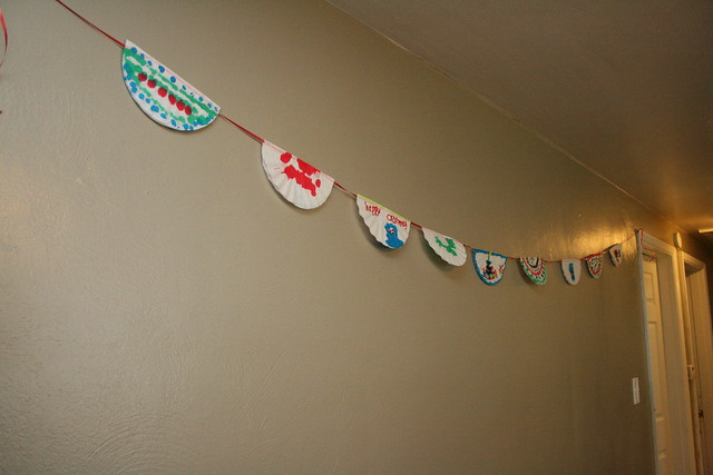 Coffee filter banner