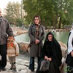 Iranian Family - Bisotun, Iran