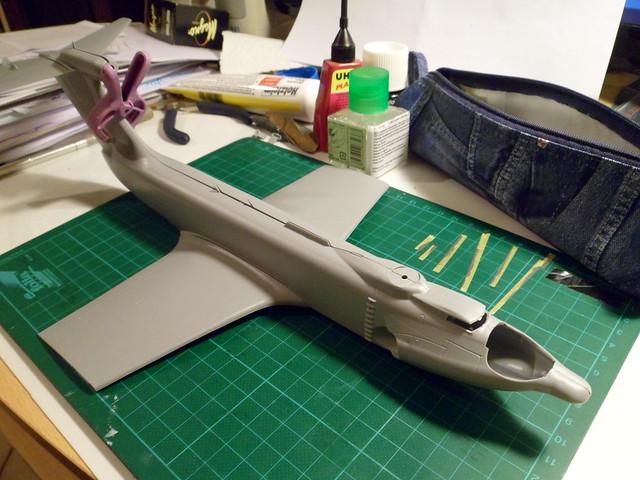 Ekranoplan A-90 Orljonok [Revell 1/144] MAJ au 15/05/12 : Voilaaaaaa c'est fini 6449161113_6185d8c716_z
