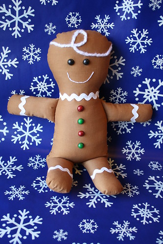Gingerbread plush