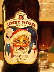 52 beers 4 - 14, Batemans, Rosey Nosey, England