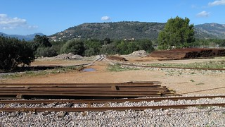 Kuva Tren de Sóller lähellä Bunyola. tren railway mallorca baleares soller balearic