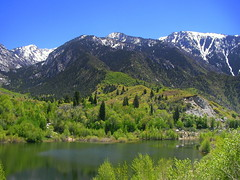 Wasatch Mountains Late Spring