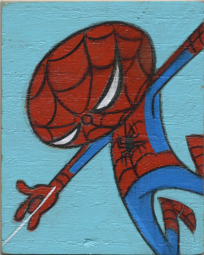 Spidey Mini-painting by Jason Dryg