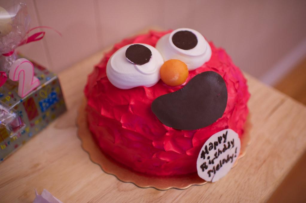 Elmo cake?