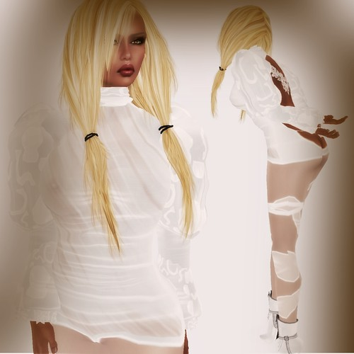 A&A Fashion Balafe Outfit white