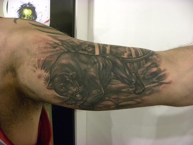 Black Panther Tattoo