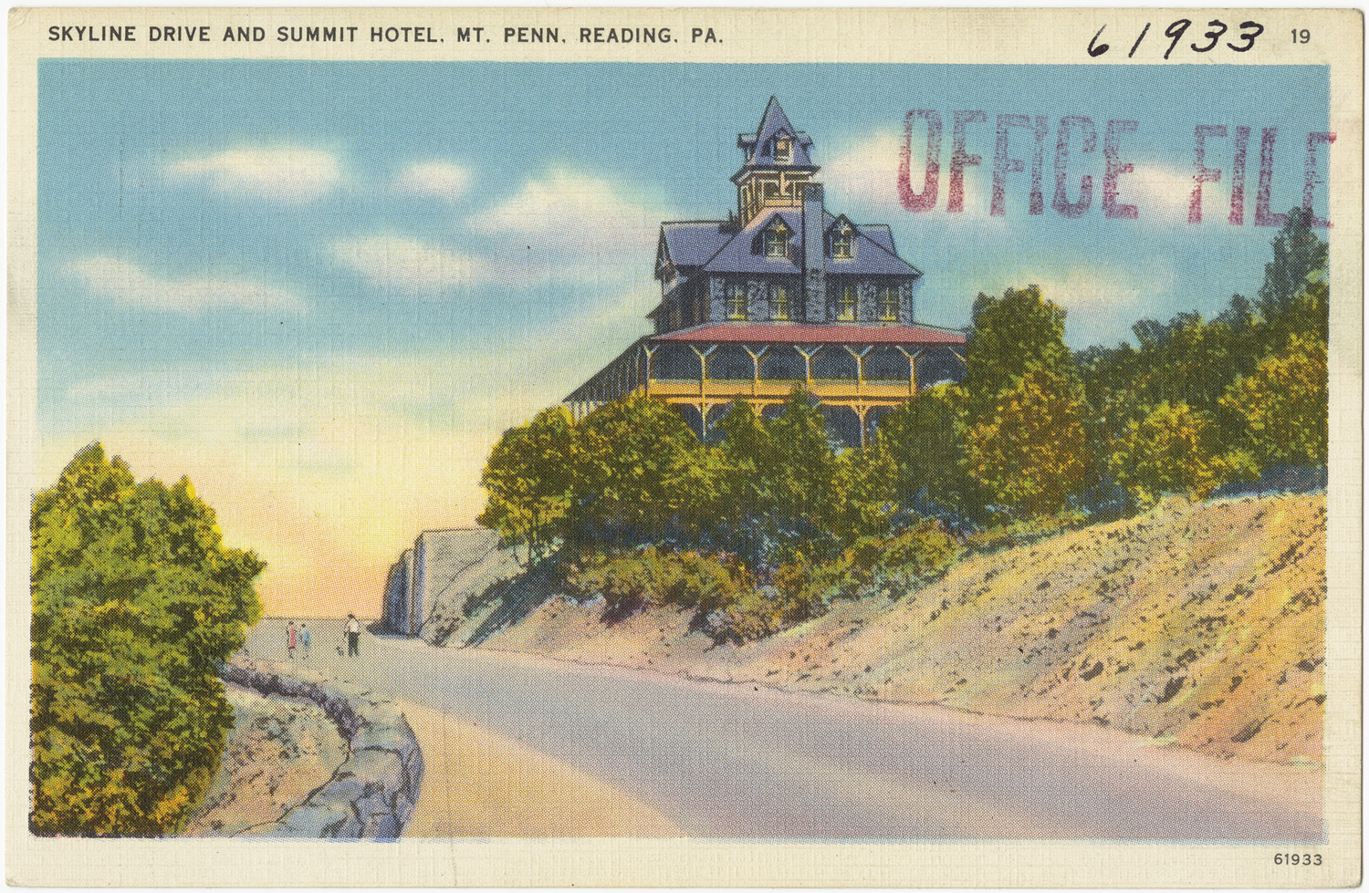 Hotels In Boston >> Skyline Drive and Summit Hotel, MT. Penn., Reading, PA ...