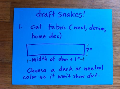 Draft Snakes - step 1