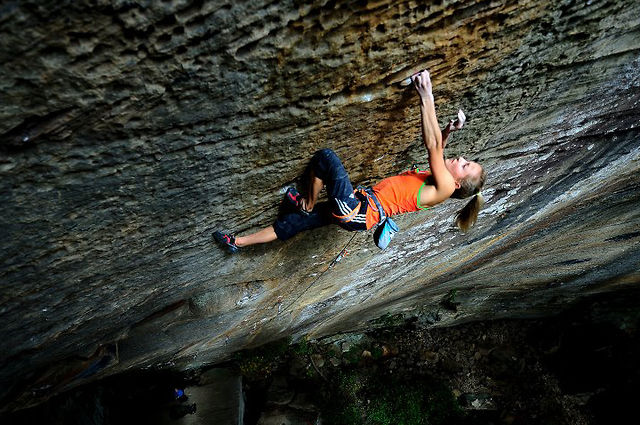 "Sasha DiGiulian.  ""Pure Imagination""  5.14d (9a). on Vimeo by Adidas Outdoor"