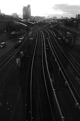 Poplar DLR Rails