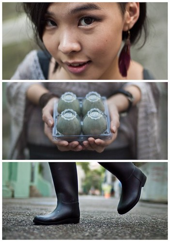 Triptychs of Strangers #28: The Century Egg loving Girl from Hong Kong