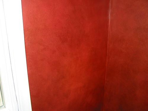 Luster Stone powder room