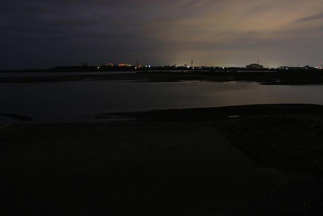 天竜川の河口付近