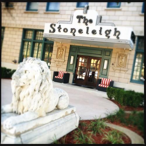Stoneleigh Hotel Uptown Architecture Dallas Texas IMG_1654 by Dallas Photographer David Kozlowski