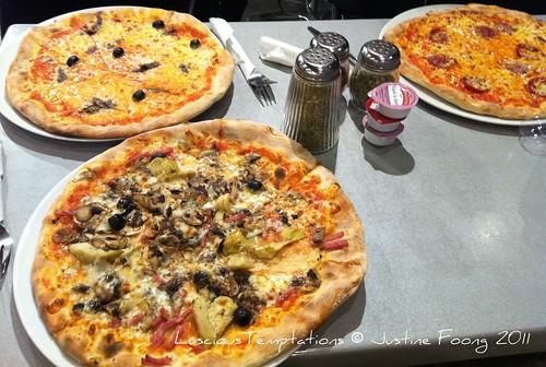 Pizza - Italian Coffee Company (Icco), Fitzrovia