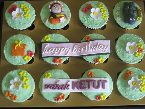 Cupcake Set - Bali Theme