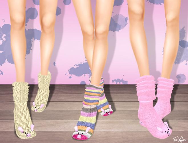 * I <3 My Piggy Socks *